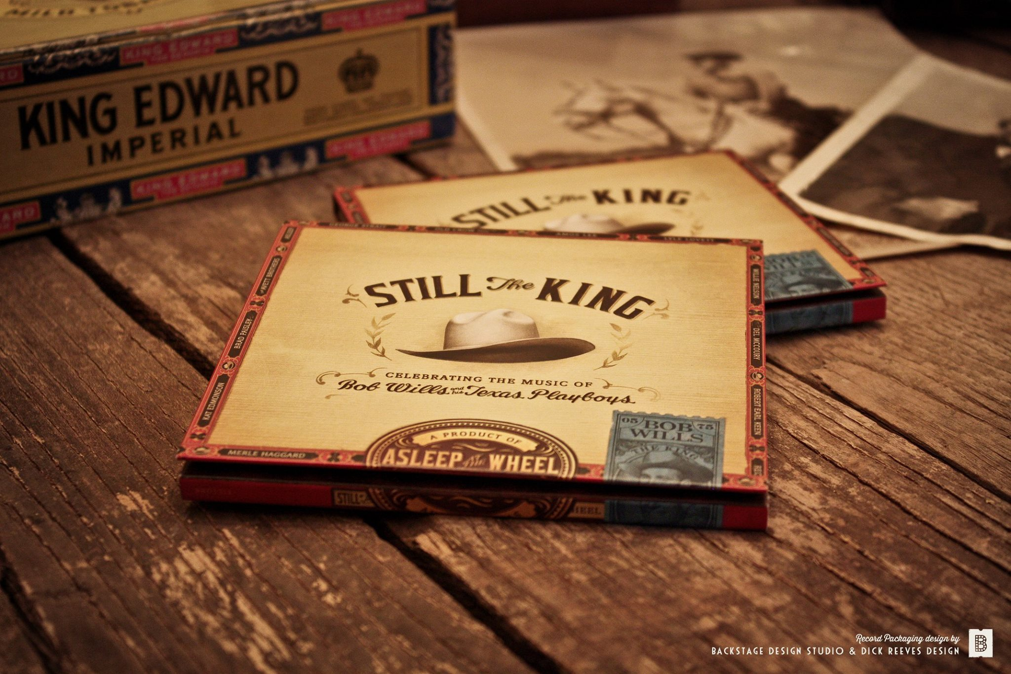 Still The King Cover Art - 2016 Grammy Nominee for Best Recording Package: Shauna Dodds, Sarah Dodds & Dick Reeves