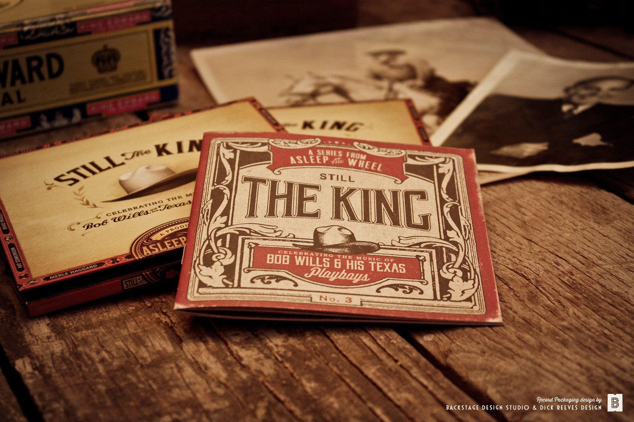 Still the King - Best Recording Package Nominee - 58th Annual Grammy Awards - Shauna Dodds, Sarah Dodds & Dick Reeves